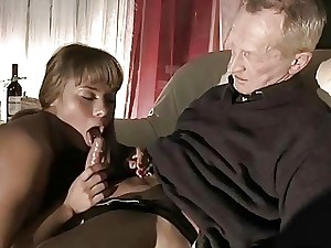 Highly Old Man Pummels Highly Youthful Girl And Cums On Her