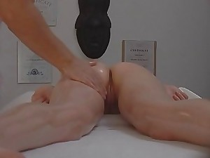 Czech Massage Young Cock-squeezing Girl Gets Much More Than