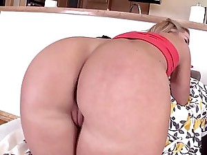Ideal booty Candice Dare ass-fuck pulverized up