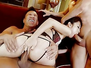 HARMONY VISION Japanese stunner Marica Hase in Anal invasion Double penetration