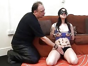 Inexperienced Domination & submission boob bill