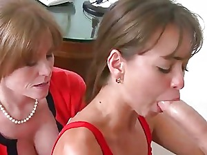 Stepmom Darla Crane makes out with Riley
