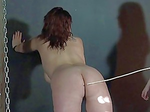 All damsel slapping and inexperienced lashing of plus-size sub