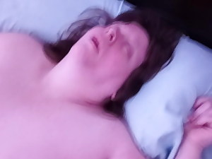 MY BBW Wife Masturbating For All To See!