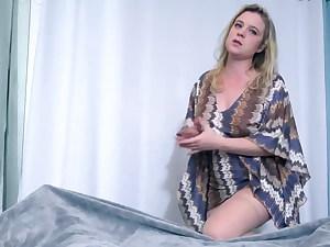 Stepson jizzes in stepmom to help get her pregnant (POV)