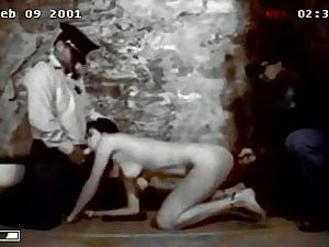 chained girl fucked and humiliated