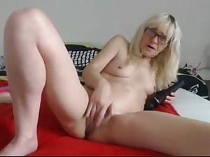 granny wanking